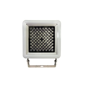DuroSite Floodlight, 10750 Lumens, 107 Watts, 100-277 VAC, Cool White, NEMA 5, Clear Tempered Glass Lens