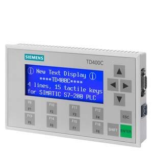 6AV6640-0AA00-0AX1, TD 400C Textdisplay, 4-zeilig