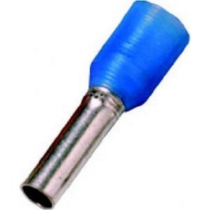 Aderendhülsen isoliert, 16 mm², blau, Länge 18 mm, DIN 46228 T4
