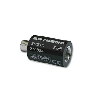 ERE 01, F-Dämpfungsstecker 6 dB