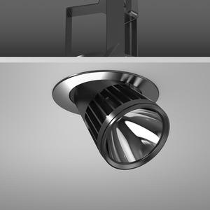 Einbaustrahler LED/27W-2700K D180, H213, breit, 2700 lm