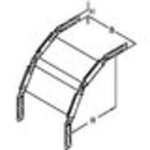 Gelenkbogen vertikal für Kabelrinne