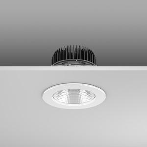 Einbaudownlight LED/23,9W-3000K D156, H114, eng, 2650 lm
