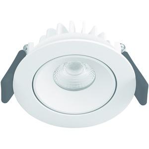 SPOT LED ADJUST6.5W/3000K 230V IP20, SPOT ADJUST 6 W 3000 K WT