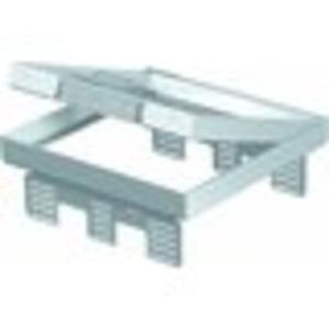 Nivellierbare Kassette für Kanaleinbau, Doppel- und Hohlboden