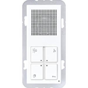 TK IS A 514 AD WW, TKM Innenstation Audio Design Standard, kombinierbar mit Rahmen 2fach