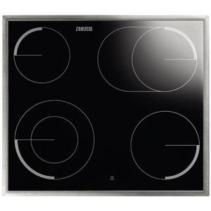 ZEV6046XBA, Kochfeld 60 cm, schnellaufglühende Kochzonen, Zweikreis, Bräterzone, Restwärmeanzeige