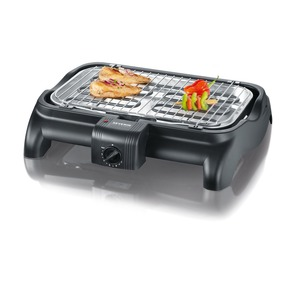 Barbecue-Grill, ca. 2300 W, Regler schwarz