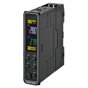 E5DC-RX2DSM-002, Universalregler, DIN-Schiene, Regelausgang 1: Relais, 2 Zusatzausgänge Relais, Universal-Eingang, 24V AC/DC, Option 002