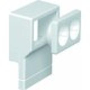 Geräteträger für Sockelleistenkanal