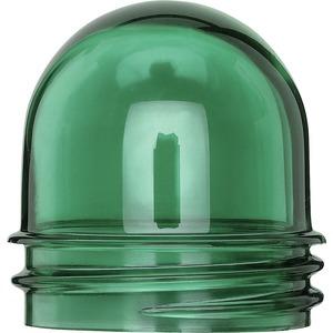 Kuppelhaube für Lichtsignal E 14, (2x), grün, AQUASTAR