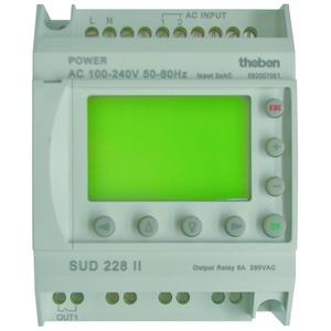 SUD 228 II, Reiheneinbau-Aufladeschalter für Nachtspeicherheizungen 4 TLE
