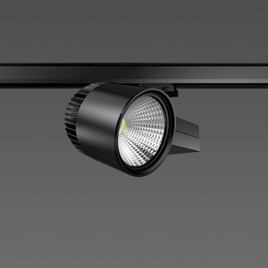 Strahler LED/45W-3100K 227x146, breit, 3750 lm