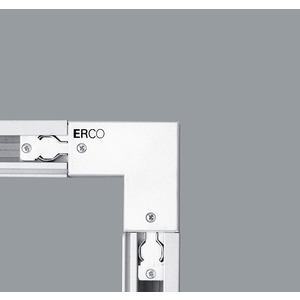 Eckverbinder Erdleiter aussen, 3-Ph weiß