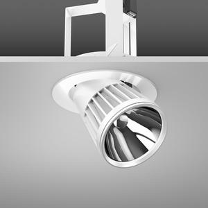 Einbaustrahler LED/45W-3100K D180, H303, DALI, 3800 lm
