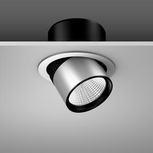 Einbaustrahler LED/20W-3000K D180, H170, mittel, 2050 lm