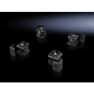 TS 8100.000, Flex-Block Eckstücke, für TS/TS-IT/SE/PC, Höhe 100 mm, RAL 9005, Preis per VPE, VPE = 4 Stück