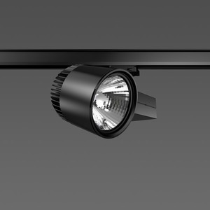 Strahler LED/45W-2700K 227x146, DALI, engstr., 3300 lm