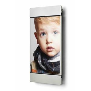 sDock Mini  silber, Wandhalterung für iPad mini. Dockingstation. Fotorahmen. - Alles in einem.