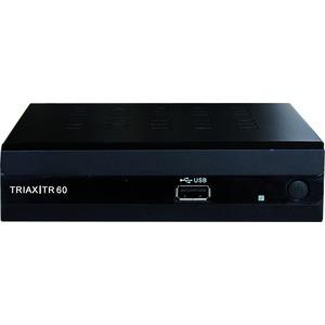 Triax TR 60, DVB-T2 HEVC, FTA, DVB-T2-Receiver (HEVC) im kleinen, kompakten Gehäuse