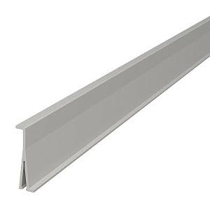 2371 60, Trennwand 60x2000mm, PVC, lichtgrau, RAL 7035
