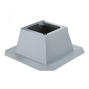 FDS 710, FDS 710, Flachdachsockel aus sendzimierverzinkt. Stahlblech