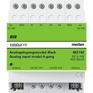 Analogeingangsmodul REG/4fach, lichtgrau