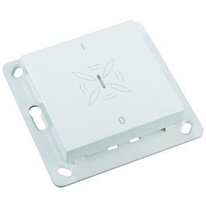 Feuchtesensor Easywave 868 MHz  2-Kanal weiß IP30 3V Batterie oder 12-24V AC/DC mit Taster Ein/Aus
