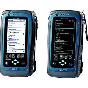 WX500-CU, Kabel Zertifizierer WireXpert 500, unkomplizierte Zertifizierung der Verkabelung