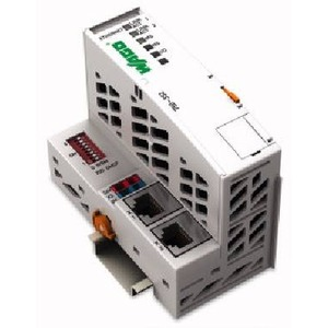 Feldbuskoppler ETHERNET TCP/IP 10/100 Mbit/s digitale und analoge Signale lichtgrau