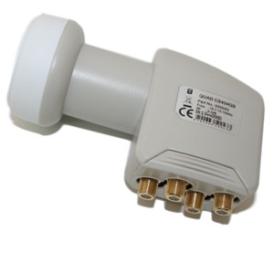 CS 404 QS Gold, CS 404 QS Gold, Universal Quad LNB, TQDG