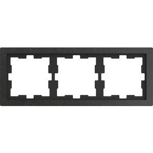 D-Life Stein Rahmen, 3fach, Schiefer geschliffen