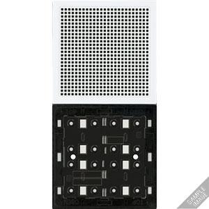 TK AS ES 2914, TKM Etagenstation Audio, 1- bis 4fach, UP, ohne Tasten