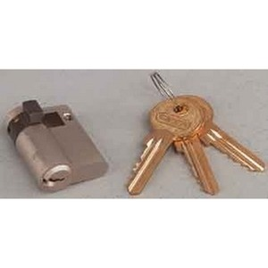 HHZ, Halbzylinder mit Schlüssel, inkl. 2 Schlüssel, gleichschließend