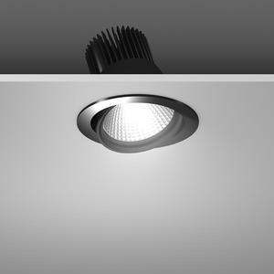 Einbaustrahler LED/23,9W-3100K D157, H142, dim.DALI, 2200 lm