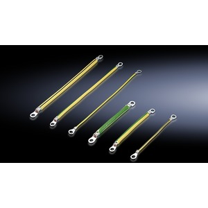 SZ 2564.000, Erdungsbänder M8-M8, Querschnitt 4mm², Länge 170 mm, Preis per VPE, VPE = 5 Stück