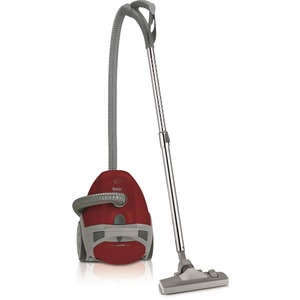 Ares rot, Bodenstaubsauger Ares, TS 130, trend, rot/grau, 650 Watt