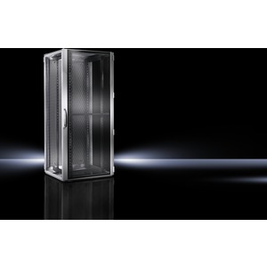 DK 5504.110, Netzwerk-/Serverrack, belüftete Türen,19-Profilschienen,BHT 800x1200x1000 24HE
