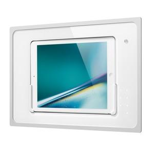 iDock Touchcode/weiß/110-230V/Blende Glas weiß für iPad Air