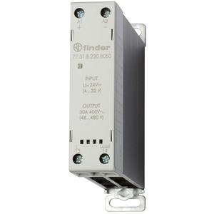 77.31.8.230.8050, Relais mit 1 SSR-Kontakt 30 A/60 bis 440 V AC, Einschaltstrom bis 520 für 10 ms, Eingang 40 bis 280 V AC