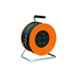IT 280.TS4.40KS315, Kabeltrommel aus Kunststoff mit 4-fach Schutzkontaktsteckdose mit 40 m Kabel H07RN-F 3G1,5