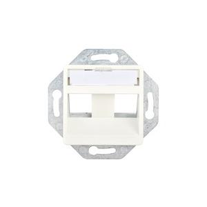 50x50 mm Rahmenset, Schrägauslass, für 3 FutureCom xs500 Keystone