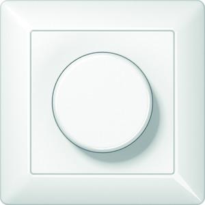 AS 5544.02 V WW, Dimmer, Dreh-Ausschalter, 60 bis 400 W, volle Platte