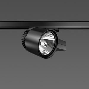 Strahler LED/20W-3000K 227x146, DALI, engstr., 2050 lm