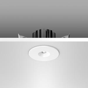 Notleuchte Einbaudownlight LED/2W D50, H45, m.AC-Control, 150 lm