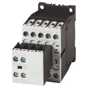 DILM7-21(230V50HZ,240V60HZ), Leistungsschütz, 3-polig + 2 Schließer + 1 Öffner, 3 kW/400 V/AC3