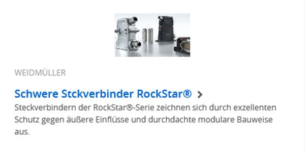 Weidmüller - Rockstar®