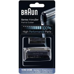 10 B, Braun Kombipack 10B, schwarz