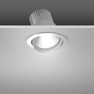 Einbaustrahler LED/39,2W-4000K D157, H142, engstr., 3900 lm