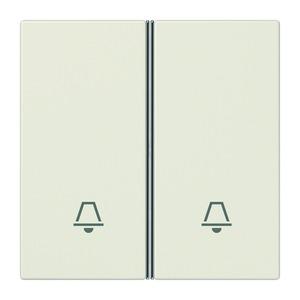 LS 402 TSAK, Tastensatz, 2fach, komplett, Symbol Klingel